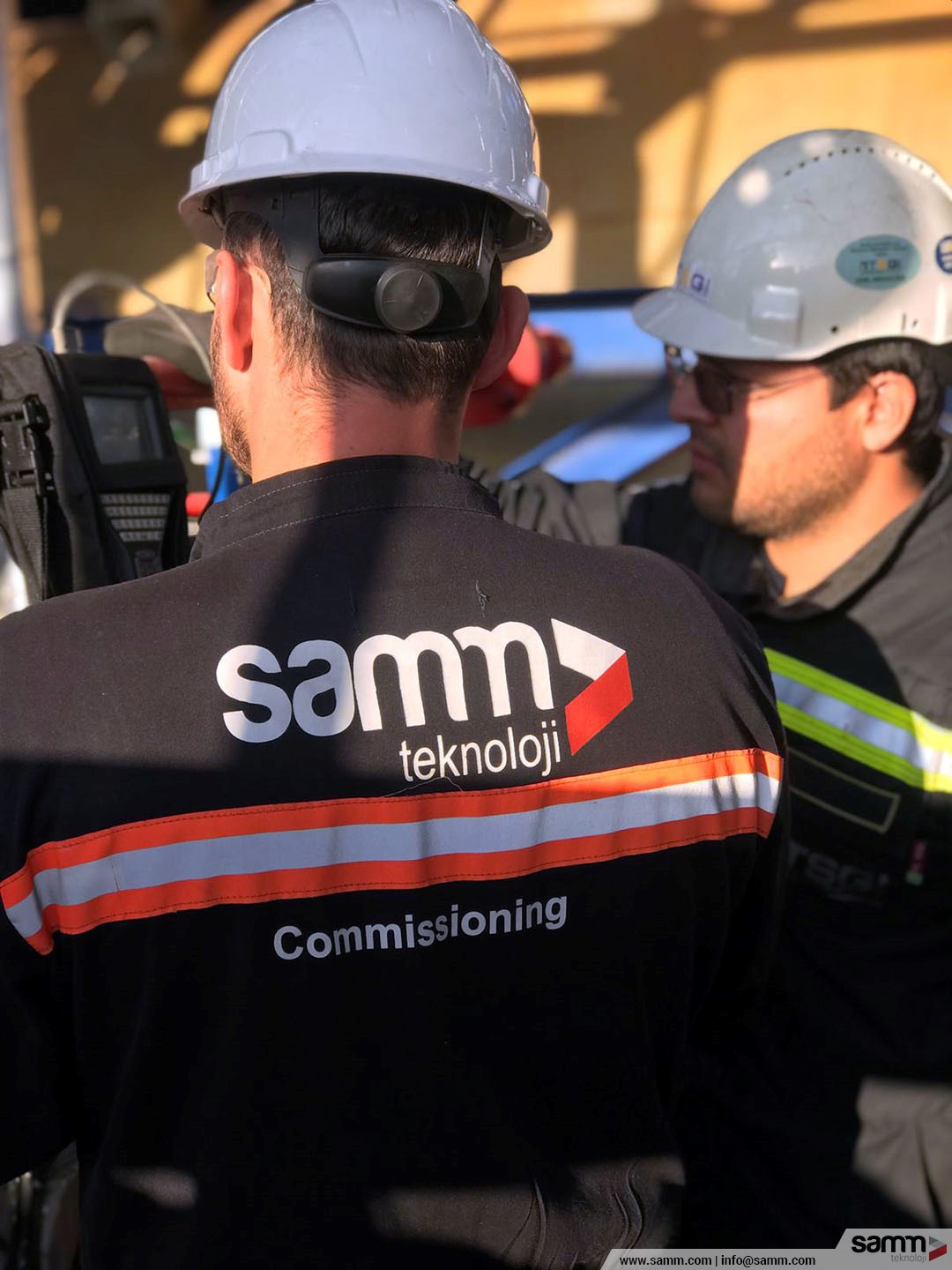 Samm Teknoloji | Loop test and fuctional test activities at site.