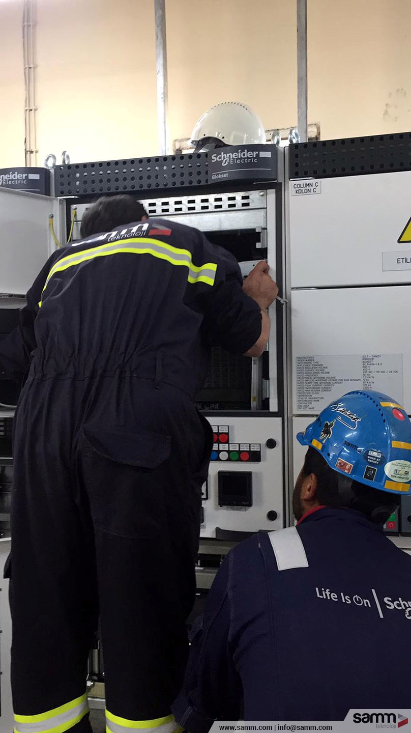 Samm Teknoloji | Testing and Commissioning of UPS system.
