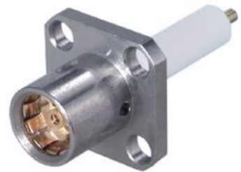 BMA Straight Panel Receptacle (jack) 1