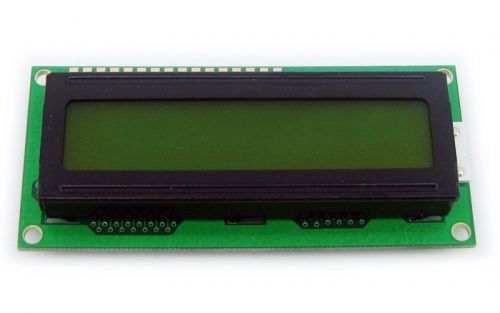 LCD 1602 5V Yellow - 2x16 Characters