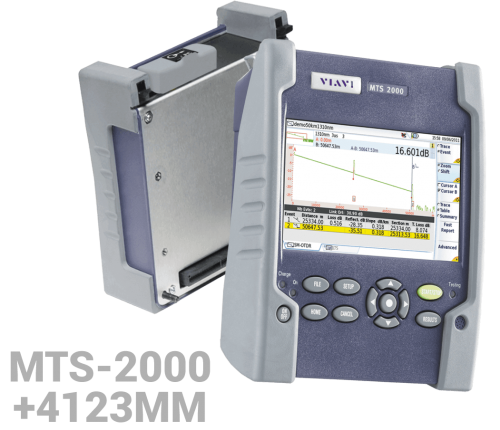 KİT MTS-2000 + 4123 MM OTDR modül