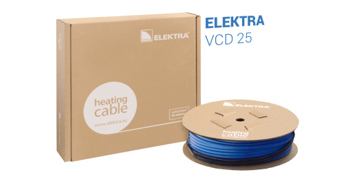 ELEKTRA VCD 25 W/m Underfloor Heating Cable