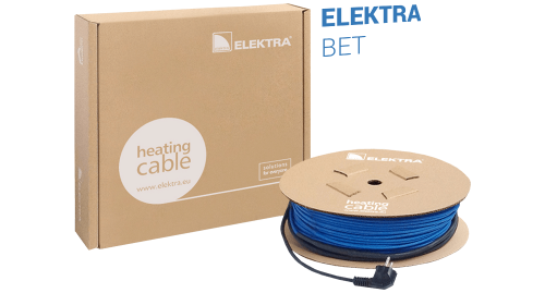 ELEKTRA BET Concrete Curing Twin Conductor Heating Cable