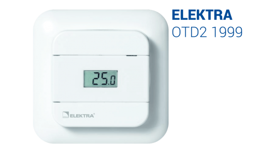 Electric Underfloor Heating Elektra Thermostat OTD2 1999