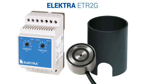 ELEKTRA ETR2G Thermostat - Driveway/Ramp Snow Protection System Control