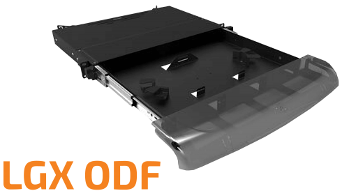 LGX Modular ODF - 1U Optical Distribution Frame