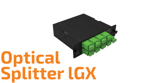 LGX Modular Optical Splitter