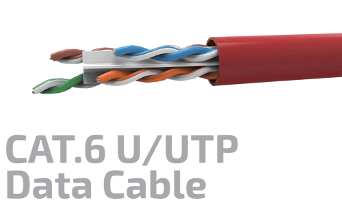 CAT.6 U/UTP 23AWG X 4P DATA Cable