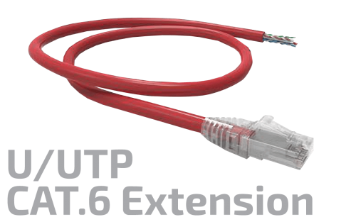 U/UTP CAT.6 Copper Extension Cable