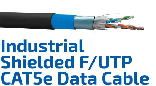 CAT.5e F/UTP Industrial Shielded Data Cable