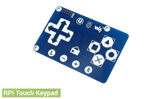 Touch Keypad - Raspberry Pi