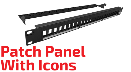 Patch Panel with Icons