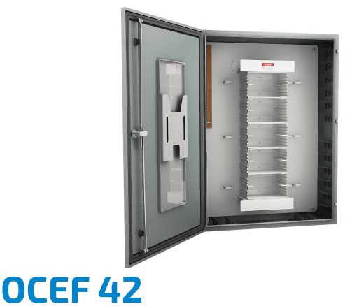OCEF 42 Fiber Optic Splice Cabinet