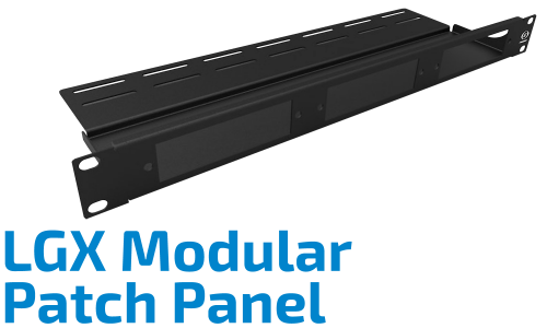 LGX Modular Patch Panel