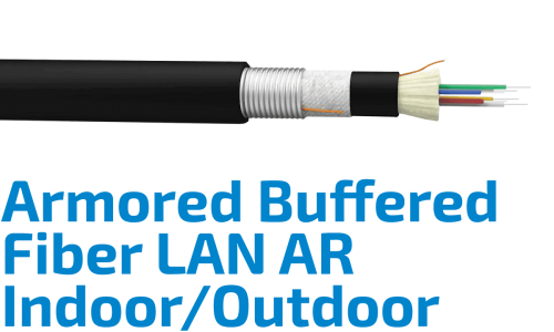 Fiber LAN-AR Armored Indoor/Outdoor Cable