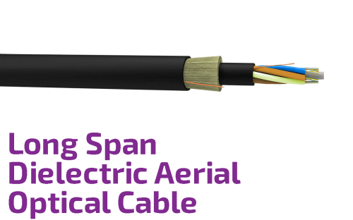 Long Span Dielectric Aerial Self-Supported Optical Cable