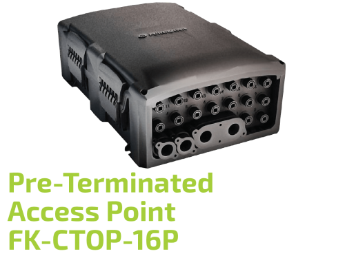 Pre-Terminated Network Access Point FK-CTOP-16P