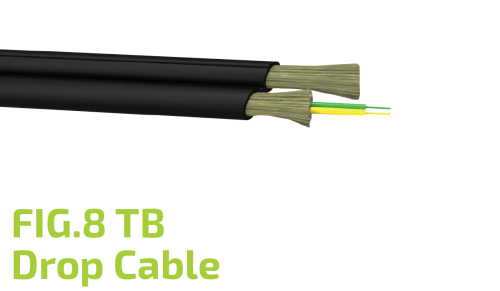 FIG.8 TB Optic Drop Cable