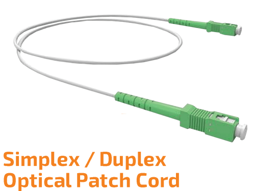 Simplex/Duplex Single-mode Optical Patch Cord