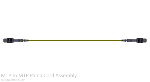 MTP to MTP Patch Cord Assembly
