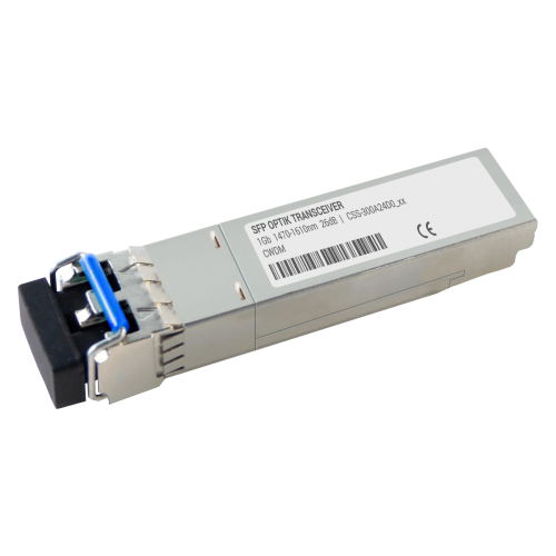 SFP CWDM Transceiver | 1G 1270-1610nm 26dB 40km