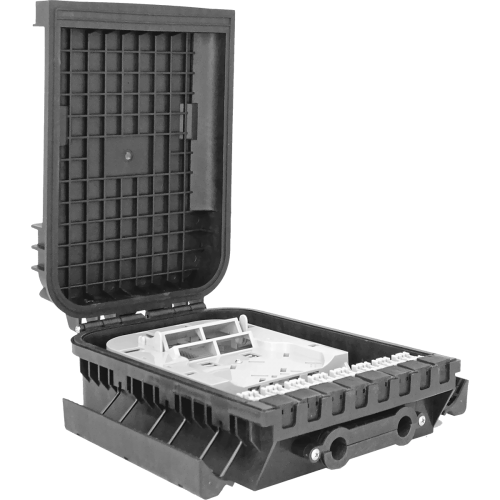 1 Tray | 24 Fibers | 16 LGX | Outdoor Termination Box | 362217