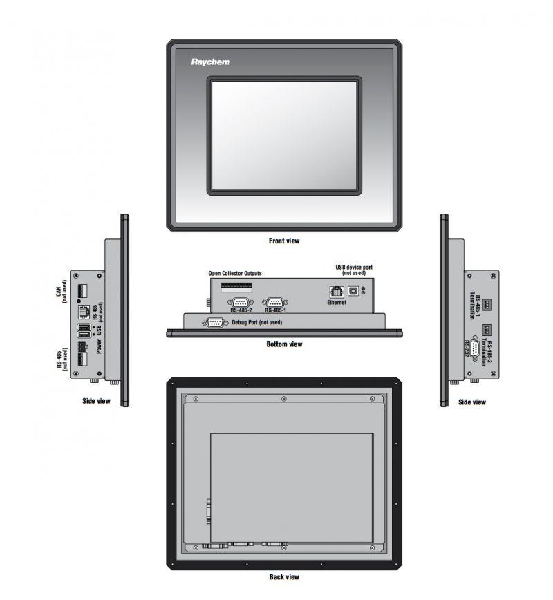 Electric Heating Monitor Ngc 20 And Ngc 30 Ip 65 Nema 4
