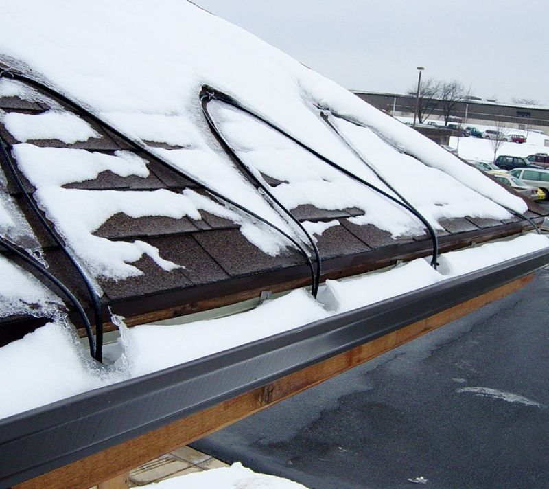 Electric Heating Roof And Gutters Snow Melting Gm2x Gm2x C