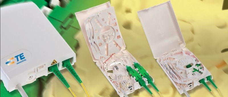 Fiber Optic Customer Premises Wall Outlet Cowo Tyco