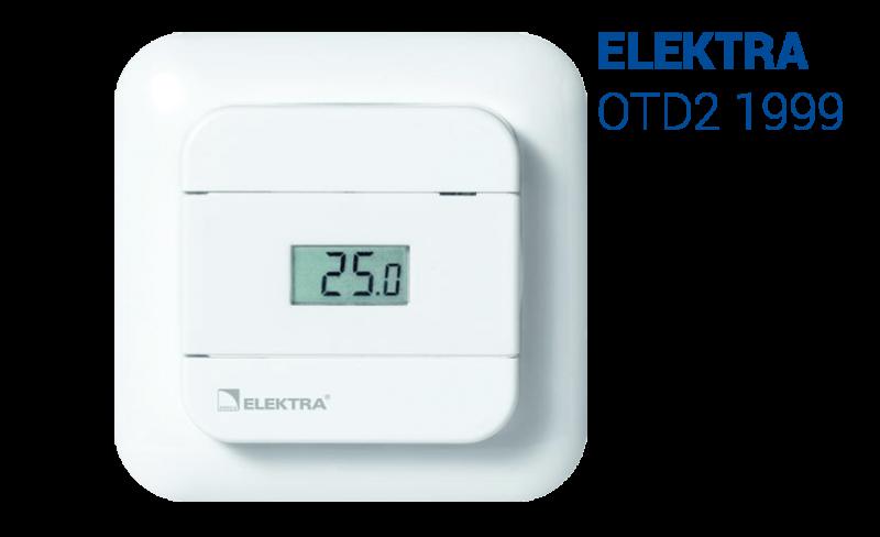 Elektra Otd2 1999 Thermostat Underfloor Heating Controller