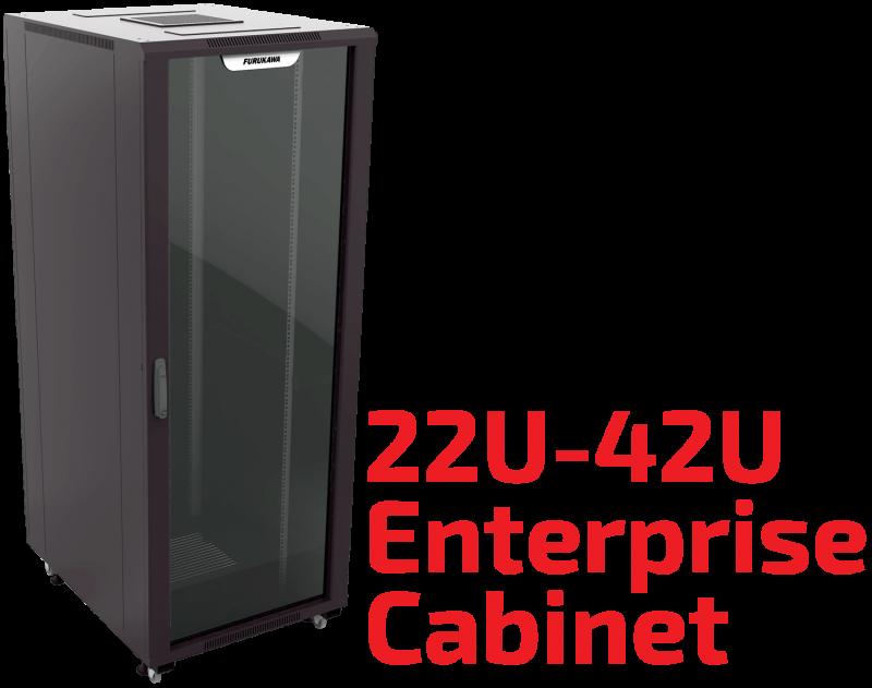 22u 42u Enterprise Rack Cabinet Furukawa Data Center