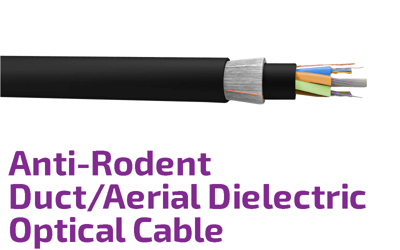 Anti Rodent Duct Aerial Dielectric Optical Cable Furukawa