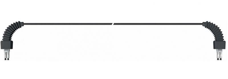 lc-lc multimode fiber optic feeder   ofnr 90 u00b0 boot