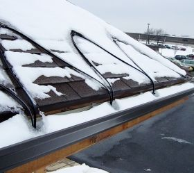 Frostop-Black Snow melting for Roofs and Gutters
