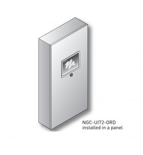NGC-UIT2-ORD Panel-mounted display