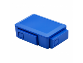 Raspberry Pi 2/3 Case Blue