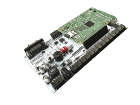 MedIOex RT-209 Rail Case for Raspberry Pi Industrial Controller Card