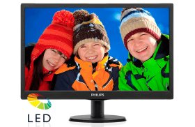 "Philips 18,5"" 193V5LSB2 5ms VGA Monitör"