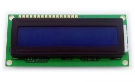 LCD 1602 5V Blue - 2x16 Characters
