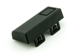 Black HDMI and USB Cover