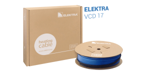 ELEKTRA VCD 17 W/m Underfloor Heating Cable