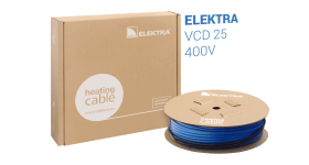 ELEKTRA VCD 25 W/m 400V Snow and Ice Protection Underfloor Heating Cable