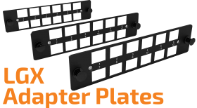 LGX Optical Adapters Plate