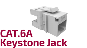 CAT.6A Keystone Jack