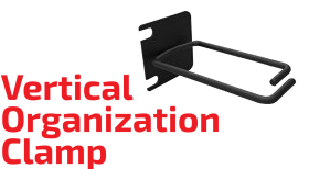 Vertical Organization Clamp