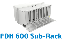 FDH 600 Fiber Optic Sub-Rack