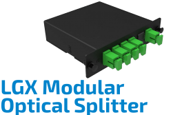 LGX Modular Pre-terminated Optical Splitter
