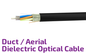 Duct/Aerial Dielectric Fiber Optical Cable