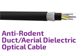 Anti-Rodent Duct/Aerial Dielectric Fiber Optical Cable