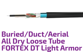 FORTEX Light Armor Buried/Duct/Aerial Fiber Optic Cable
